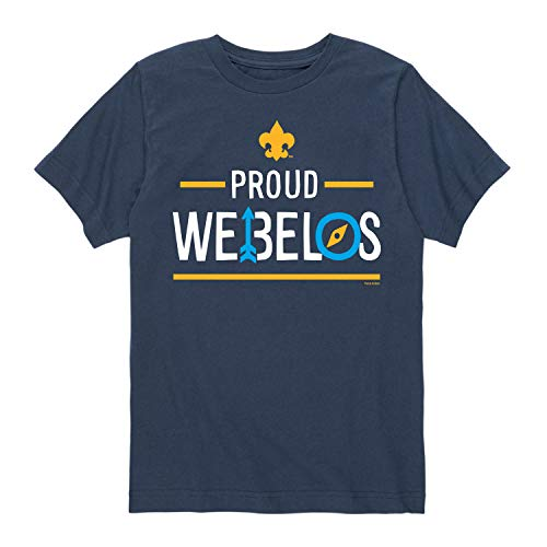 Boy Scouts of America Icon Webelos Scout - Youth Short Sleeve Graphic T-Shirt
