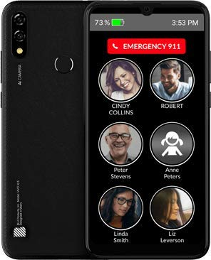 RAZ Memory Cell Phone for Dementia, Alzheimer's or Seniors + GPS Tracking + Call Blocking