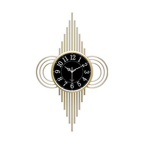 TB Nordic Reloj de Pared Moderno Creativo Personalidad Simple Reloj Atmósfera Silencioso Metal Reloj Hogar Luz de Lujo Reloj