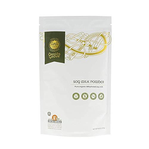 Druids Grove ORGANIC Soy Milk Powder Vegan  Non-GMO Gluten-Free OU Kosher Certified - 8 oz.