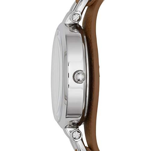 FOSSIL Montre Georgia femme / Montre-bracelet vintage avec cadran en acier...