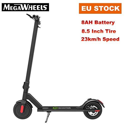 Elektroroller E-Scooter Klappbar 8.5 Zoll Faltbarer Elektroscooter Erwachsene Bis 23 km/h E-Roller Mit Vorderen und Hinteren Rückleuchten | LG5.8Ah Akku | 250 Watt Motor City Roller, Versand aus EU