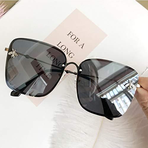 KANGDE Quadratische Damen SonnenbrilleRandloseSonnenbrille für DamenDamenbrilleSexySonnenbrille Frau UV400
