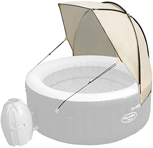 Lay-Z-Spa Canopy Hot Tub, Beige, 12 x 61 x 8 cm
