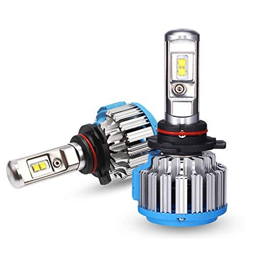Ampoules De Phare À LED 3300LM 35W 6000K, LED Phare Kit De Ampoule De Rechange Auto,9012