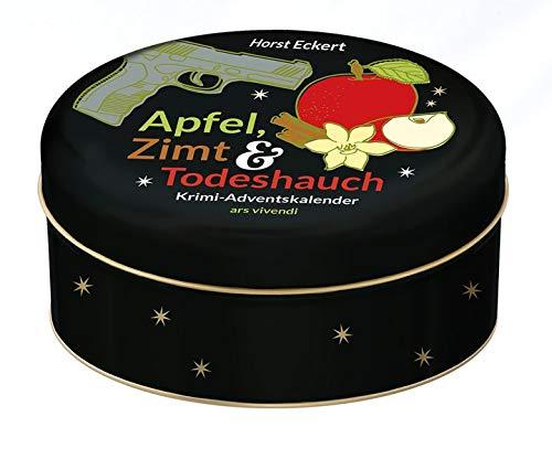 Apfel, Zimt und Todeshauch 2020: Krimi-Adventskalender mit 24 Karten zum Aufhängen