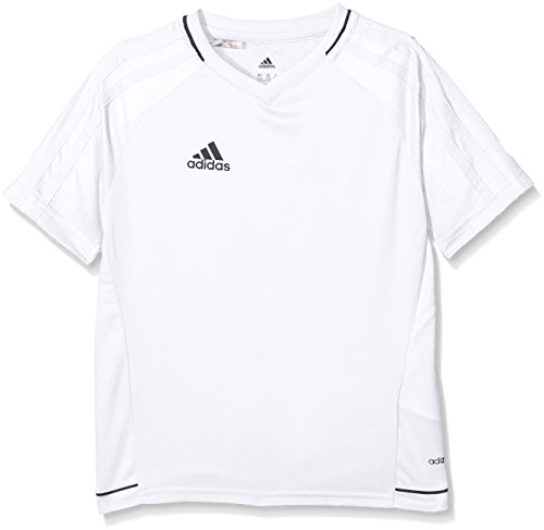 adidas Jungen Tiro 17 Training Trikot, White/Black, 164