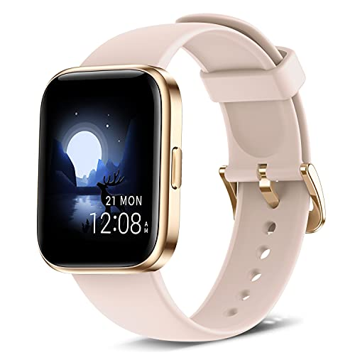 Smart Watch Fitness Tracker with 24/7 Heart Rate, Blood Oxygen Blood...