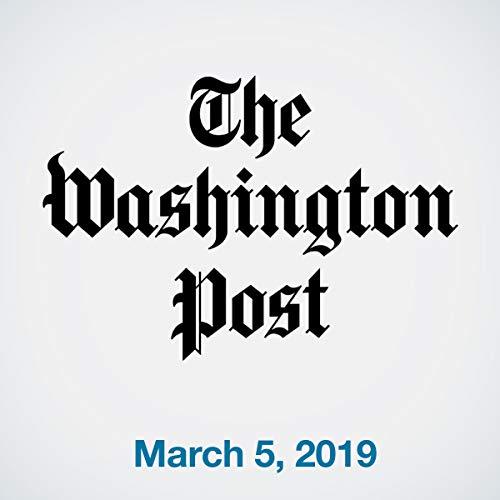 March 5, 2019 copertina