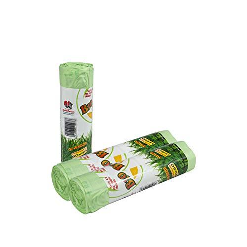 Palucart Sacchi Raccolta Umido e Organico cm 50x60 (30 Litri) 200 Pezzi biodegradabili e compostabili