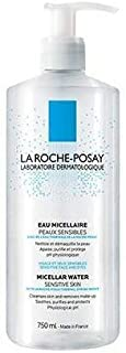 La Roche-Posay Micellar Cleansing Water Facial Cleanser and Makeup Remover for Sensitive Skin, 25.4 Fl. Oz.