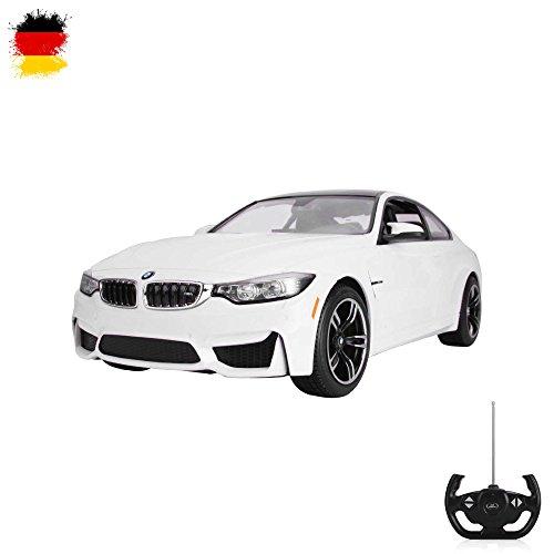 HSP Himoto BMW M4 Coupe - RC ferngesteuertes Lizenz-Fahrzeug im Original-Design, Modell-Maßstab 1:14, Ready-to-Drive, Auto inkl. Fernsteuerung