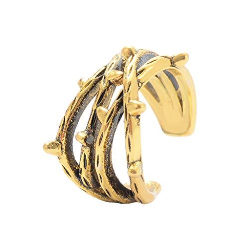 UKtrade U-vormige oor manchet Dangle Oorbellen Clip-on Mode Sieraden Cool Chic Stijl Dagelijkse Dressing Up Accessoires, Goud