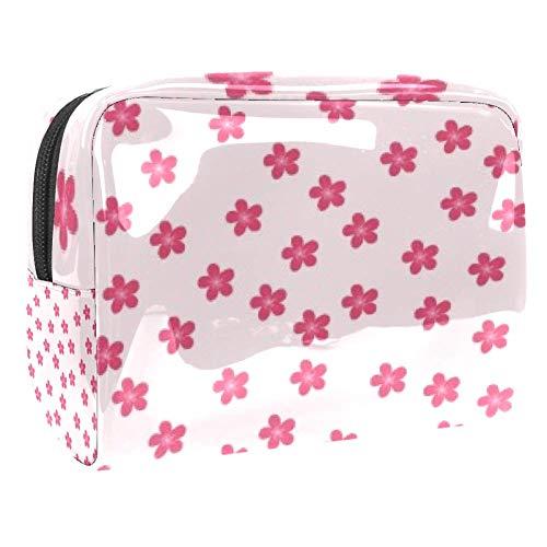 Tragbare Make-up-Tasche mit Reißverschluss, Reise-Kulturbeutel für Damen, praktische Aufbewahrung,...