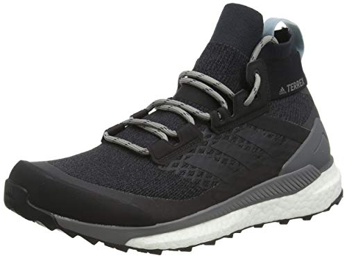 adidas Damen Terrex Free Hiker W Fitnessschuhe, Mehrfarbig (Carbon/Carbon/Gricen 000), 38 2/3 EU