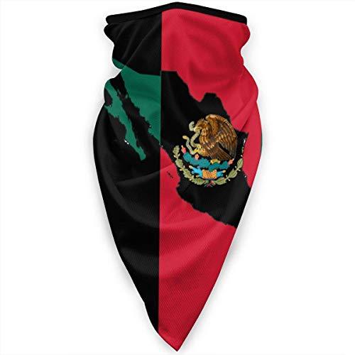 Mathillda Mexico kaart vlag gezichtsmasker hals gamassen bandana sjaal bivakmuts multifunctionele hoofddeksel