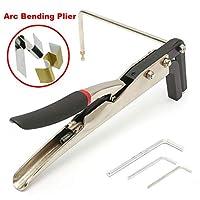 2 タイプマニュアルストリップアーク/角度ベンダー鋼プライヤー金属シートクランプチャンネルツール-Arc Bending Plier
