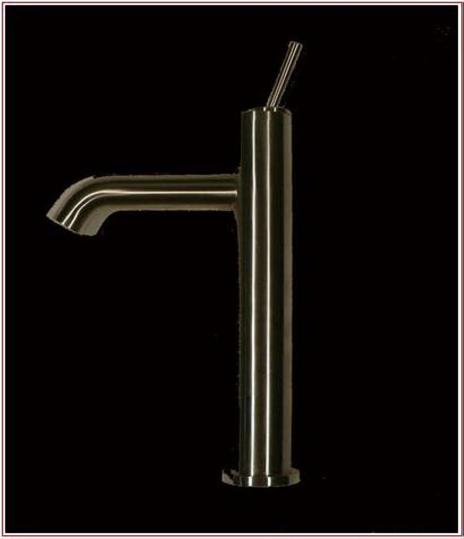 DeLanwa 602210 Edelstahl einhand Waschtischmischer für Waschschüssel