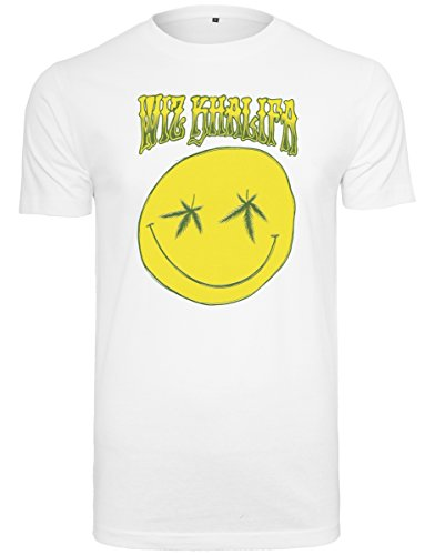 Mister Tee Wiz Khalifa 6th Grade Notebook Tee T-Shirt Men's, White, M