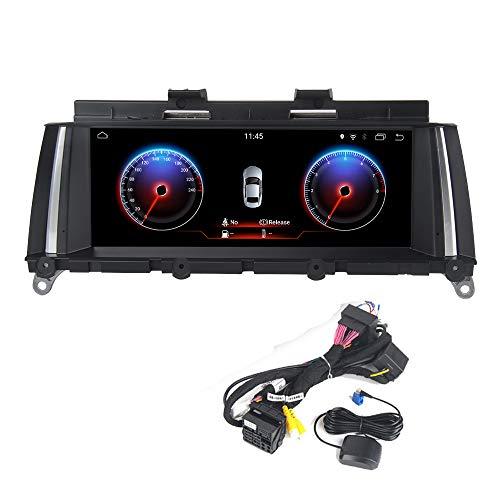 Dasaita 8,8' Android 7.1 Stereo Auto Autoradio per BMW X3 F25 2011 2012,Navigatore Autoradio Supporto Bluetooth,WiFi,Carplay,DAB,iDrive,Controllo del Volante,Traiettoria di parcheggio