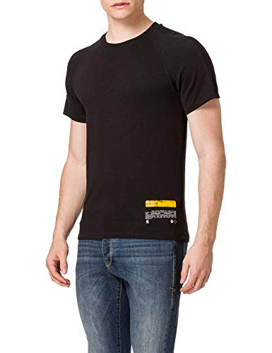 G-STAR RAW Mens Pazkor Multi Graphic T-Shirt, dk Black B248-6484, XXL