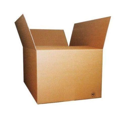 40 pezzi SCATOLA DI CARTONE imballaggio spedizioni 16x12x11cm scatolone avana