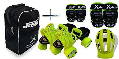 Jaspo Road Razor Roller Skates Combo (Age Group 6 to 14 Years)