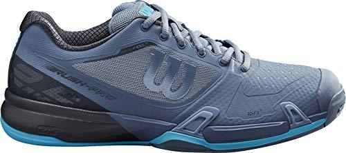 WILSON Herren Rush Pro 2.5 2019 Schuhe, Flint Stone/Ebony/Ultra Blue, 44 EU
