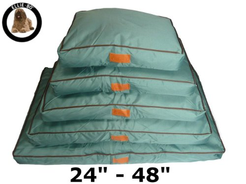 Ellie-Bo Waterproof Dog Beds in Green -...