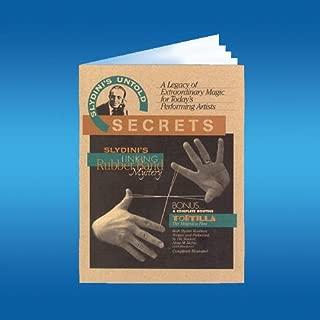 Loftus Slydini's Linking Rubber Band Book Magic Book (1per Package), Multicolor