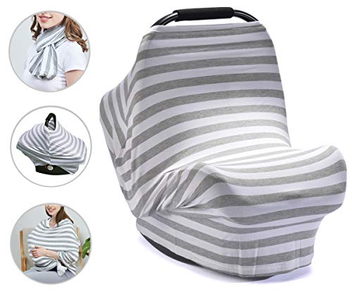 PPOGOO Nursing Cover for Breastfeeding Super Soft Cotton...