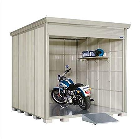 タクボ物置 バイクシャッターマン(床付き) 一般型 標準型 BS-2529 『自転車・バイクの盗難対策に バイクガレージ』