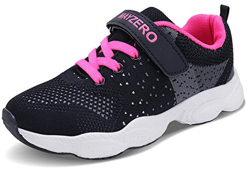 Lingmu Girl's Boys Fashionable Running Shoes Kid Breathable Non-Slip Tennis Shoes Outdoor Sports Shoes Children's (Toddler/Little Kid/Big Kid)