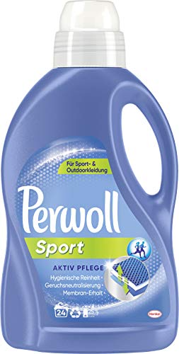 Perwoll Sport Aktiv Pflege Spezialwaschmittel, 24 (1 x 24) Waschladungen, für Sport- und Outdoorkleidung