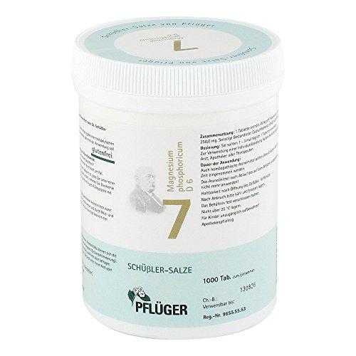 BIOCHEMIE Pflüger 7 Magnesium phosphoricum D 6 Tab 1000 St