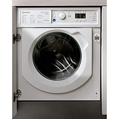 Indesit BIWDIL861284 8kg Wash 6kg Dry Integrated Washer Dryer With Quiet Inverter Motor