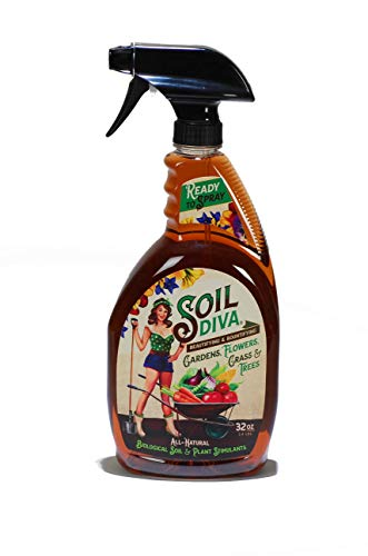 Soil Diva 32oz Ready-to-Spray All-Natural Biological Soil & Plant Stimulant