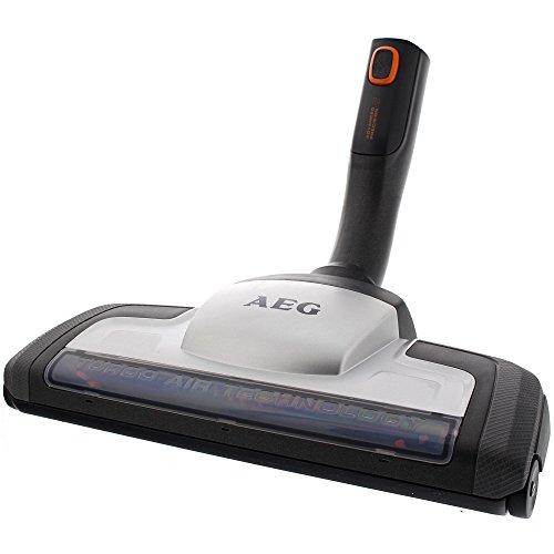 AEG AZE119 Power Turbodüse für Teppiche (Teppichdüse, optimale Saugleistung, Tiefenreinigung, Aufnahme von Tierhaaren, ideal für Haustierbesitzer, passend für Sauger mit 36 mm Ovalrohr, grau)