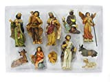 Unbekannt Krippenfiguren 11-teilig H.:bis 10cm in Plastikbox (0940720)