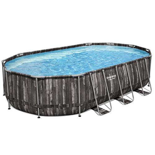 Bestway 5611R Piscina Fuori Terra Power Steel da 610X366X122 cm