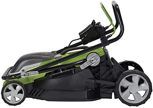 Aerotek Cordless Lawnmower Practicalities