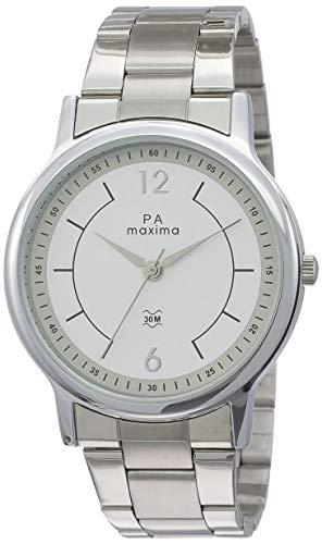 MAXIMA Analog White Dial Men's Watch-48270CMGI