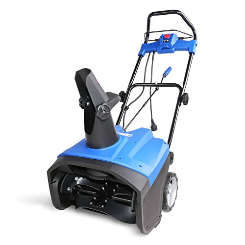 "AAVIX AGT3420 Electric Snow Blower, 20"", Blue"