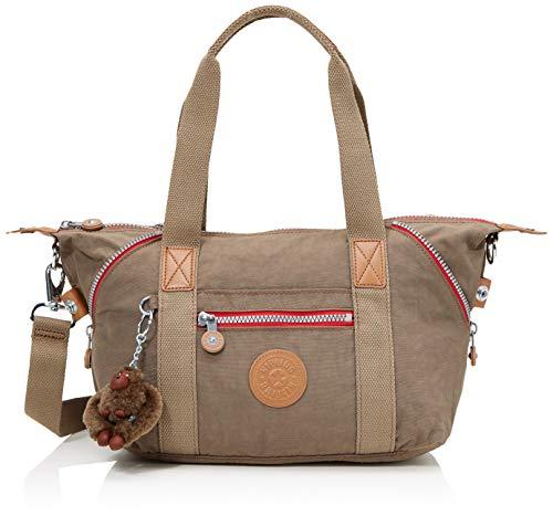 Kipling Damer konst mini handväska, 34 x 21 x 18,5 cm, Brun (True Beige C) - 34x21x18.5 cm