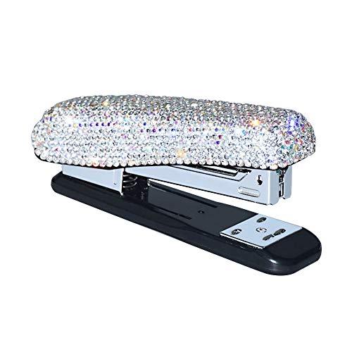 Diamond Crystal Handmade Bling Dazzling Stapler for Office School or Home
