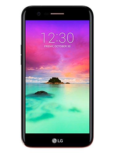 LG K10 2017 Smartphone 4G Lte, Schermo Hd Da 5.3 Pollici, Fotocamera Da 13 Mp, Processore Octa Core Da 1.5 Ghz, 2 Gb Di Ram, 16 Gb Di Memoria Interna Espandibile Fino A 64 Gb, Batteria 2800 Mah, Nero