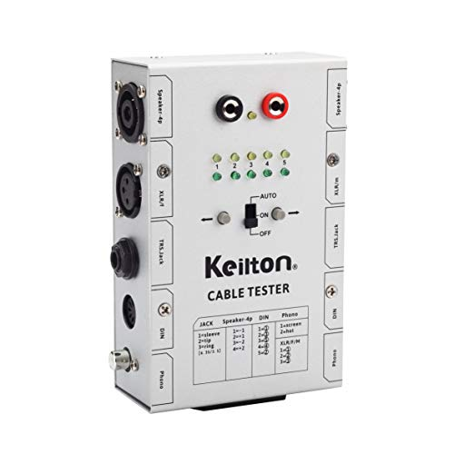 Keilton Audio Cable Tester CT5 Auto Version Gen 2