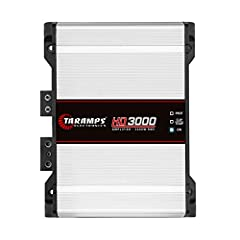 Excellent for voice as well as bass 1 ohm 3000 watts Mono Bass boost