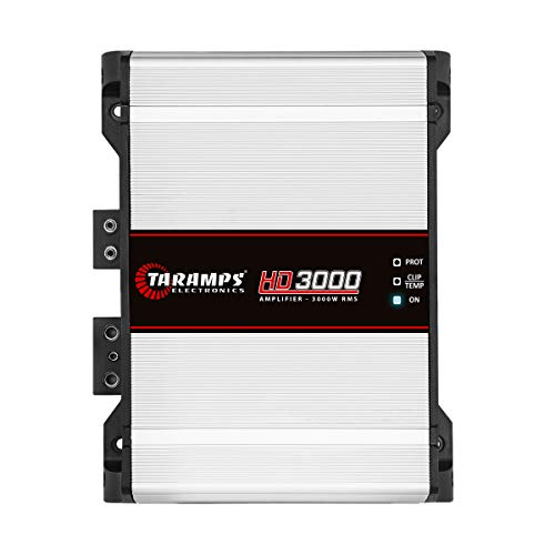 Taramp's HD 3000 2 Ohms Class D Full Range Mono Amplifier