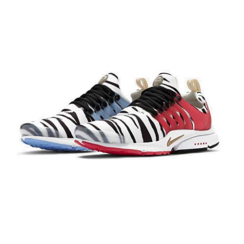 Nike Air Presto, Scarpe da Corsa Uomo, White/Metallic Gold/Black/Red Orbit, 37.5 EU